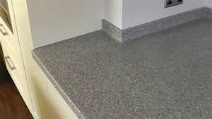 Corian Platinum Work Surfaces and matching sinks Work