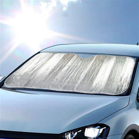 Car Shade by Auto Sunshade Chrome Foil Reflective Sun Shade For Car