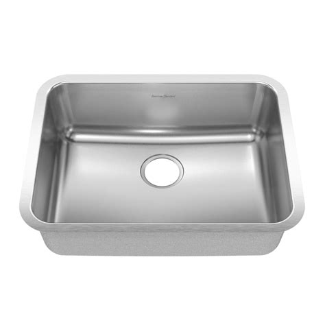 american standard undermount kitchen sinks shop american standard prevoir 20 single basin 7446