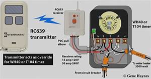 Intermatic Timer Wiring Diagram Model T102
