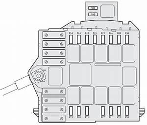 Fiat Idea  2003 - 2012  - Fuse Box Diagram