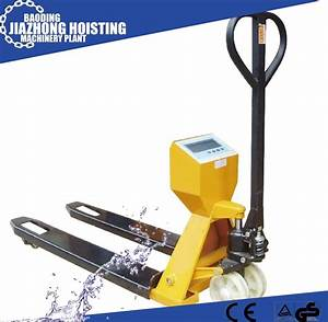 China Huaxin Hand Pallet Truck Manual Pallet Truck