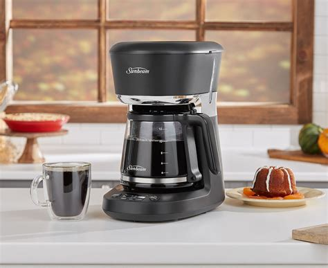 Brew now and brew later options. Sunbeam 1.7L Easy Clean Drip Filter Coffee Machine PC7800   Catch.com.au