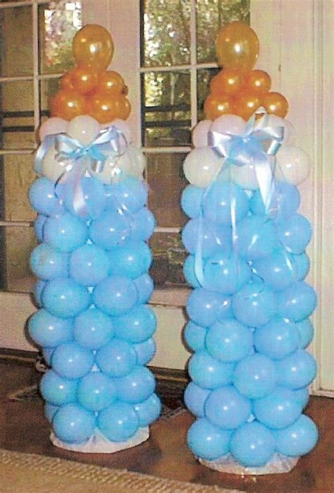 baby shower ballon baby balloon decorations party favors ideas