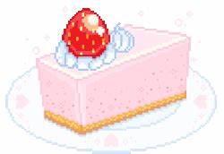 cat cute kawaii dessert pixel art anime food pixel ...