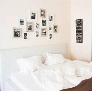 Bilder über Bett : sch ne ideen f r s schlafzimmer schlafzimmerkonfetti wohnkonfetti ~ Watch28wear.com Haus und Dekorationen