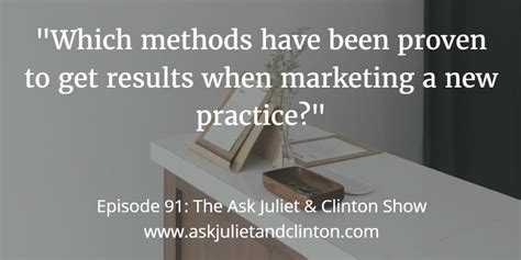 Episode 091 Which Methods Have Been Proven To Get Results