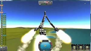 Kerbal space program, Epic fail rocket - YouTube