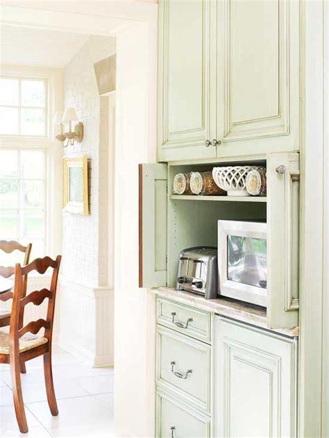 Pocket Door Kitchen Cabinets by Kitchen Cabinets That Store More Appliance Garage