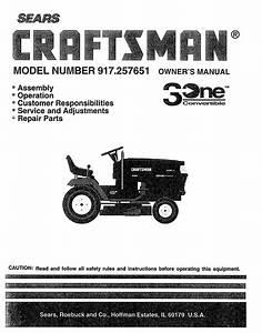 Craftsman Gt5000 48 Manual
