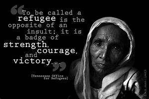 To be called a ... Jewish Refugees Quotes
