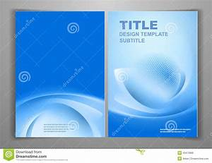 Business Front And Back Flyer Template Stock Vector