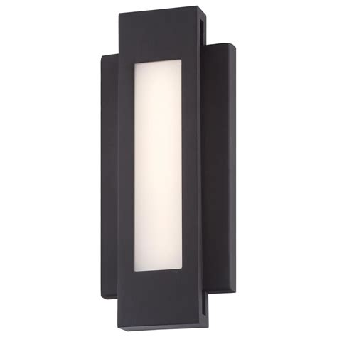 led wall sconce outdoor insert outdoor led wall sconce by george kovacs p1230 286 l