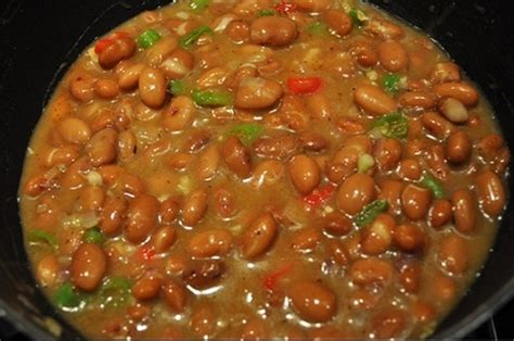 jazzy pinto beans recipe whats cooking america