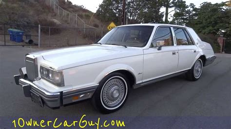 1982 Lincoln Continental Givenchy Signature V8 1 OWNER ...