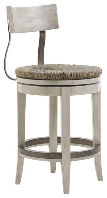 backless counter stool oyster bay merrick swivel stool transitional 1418