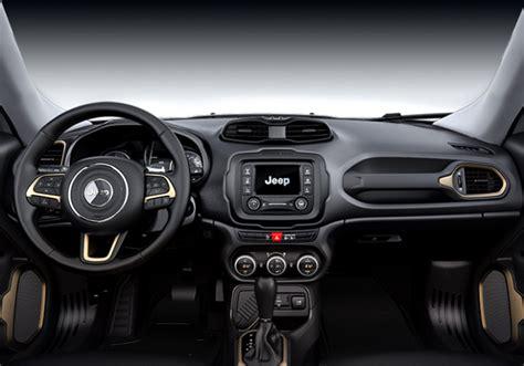 jeep renegade 2018 interior jeep renegade 2018 llega a méxico aquí precios y