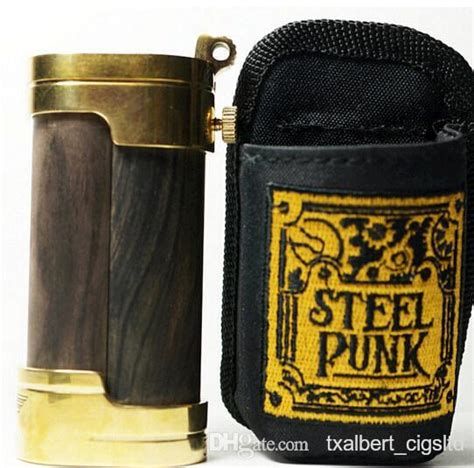 steel punk slug mod mechanical mod fashion design