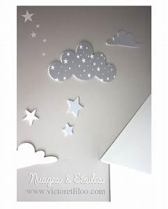 Decoration Nuage Chambre Bébé : d co chambre nuage ~ Teatrodelosmanantiales.com Idées de Décoration