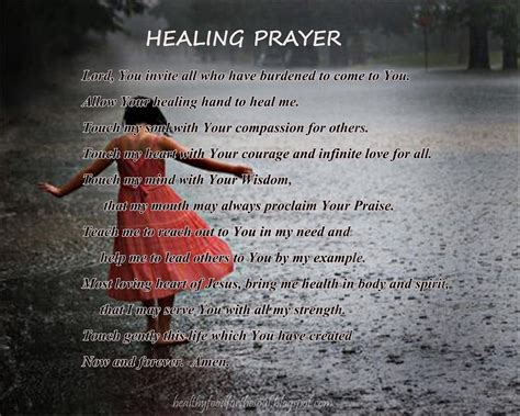 prayer  healing quotes quotesgram