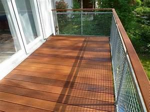 balkon mit belag aus bangkirai sinzheim bei baden baden With balkon teppich mit elitis tapeten berlin