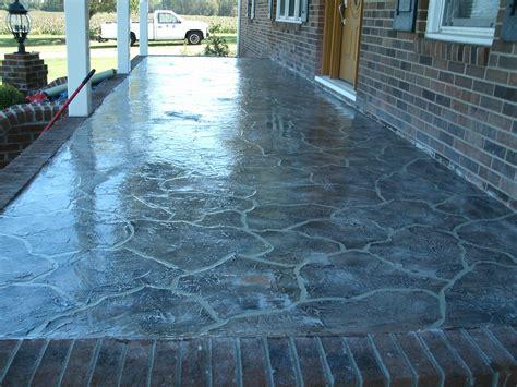 patio resurfacing idaho falls area custom concrete