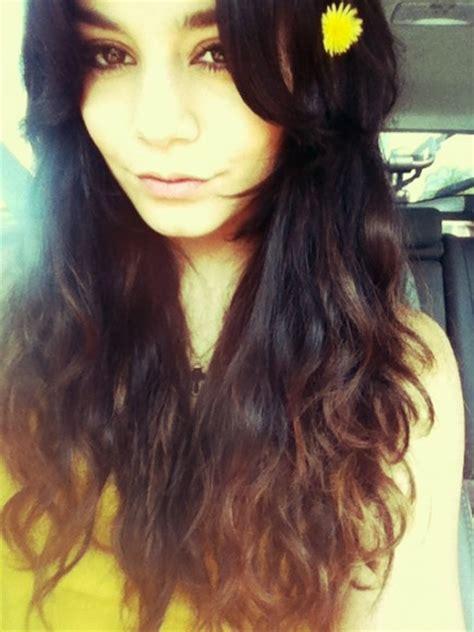 dark brown hair with light brown tips brown hair with tips red tips on brown hair fun hair