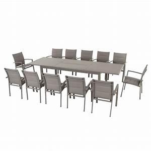 Table De Jardin Extensible Aluminium : table de jardin extensible aluminium azua max 300 cm ~ Teatrodelosmanantiales.com Idées de Décoration