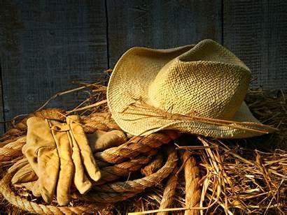 Hat Country Straw Gloves Cowboy Pixelstalk