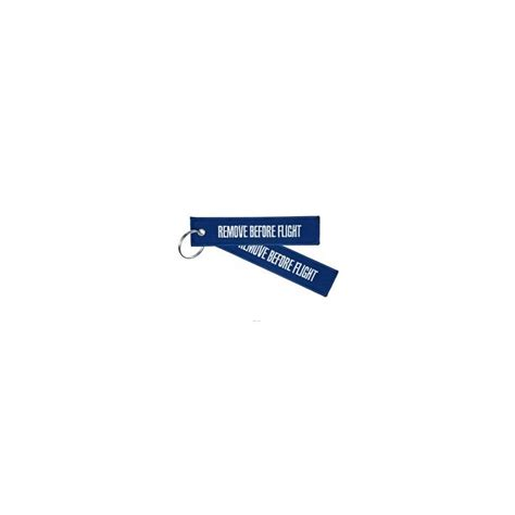 air collection porte cle remove before flight bleu