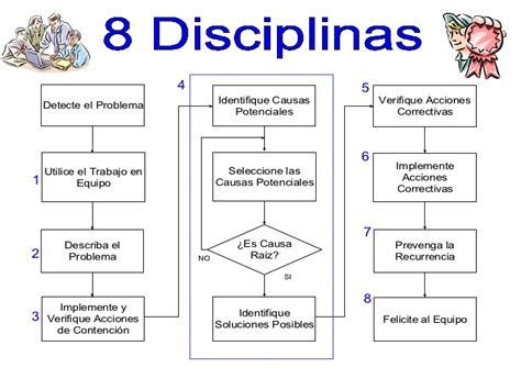 8 Disciplinas (8 D