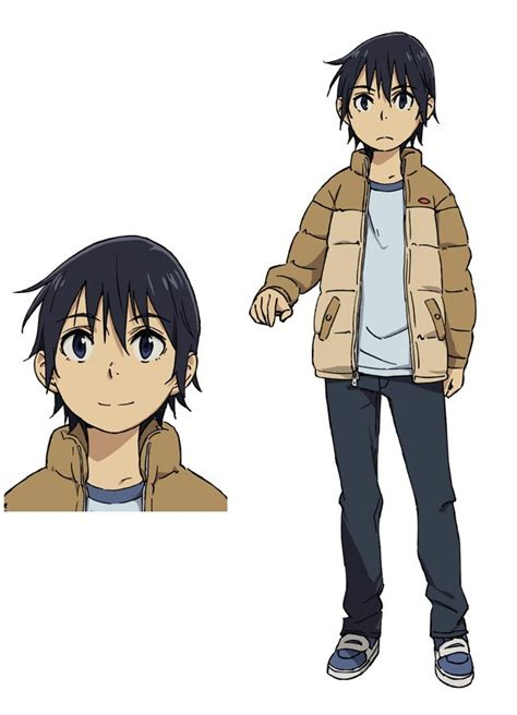 boku dake ga inai machi anime visual character designs