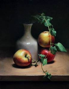 Apple still life - Jos van Riswick Still life Paintings ...