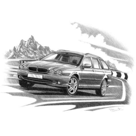 Personalised Hand Drawn Car Prints
