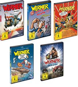 Werner Alle Filme : werner alle 5 filme 5 dvds neu ovp beinhart ~ Kayakingforconservation.com Haus und Dekorationen