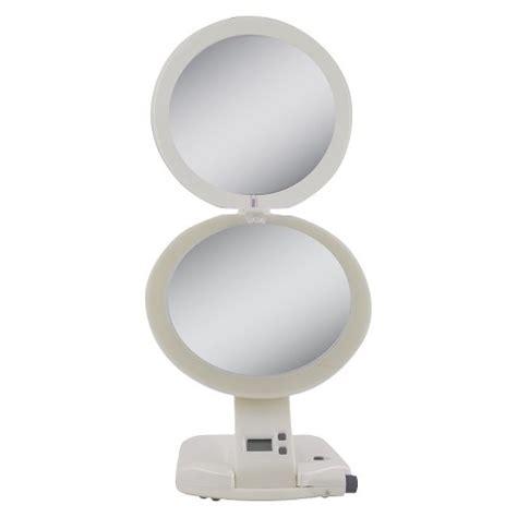 lighted makeup mirror target zadro makeup mirror 10x led lighted target