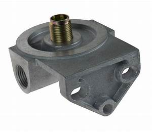 Mocal Alloy Remote Oil Filter Head Left To Right Flow