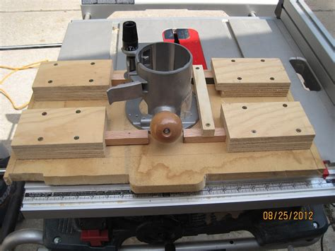 Router Table Insert For Bosch 4100 Table Saw  Page 2