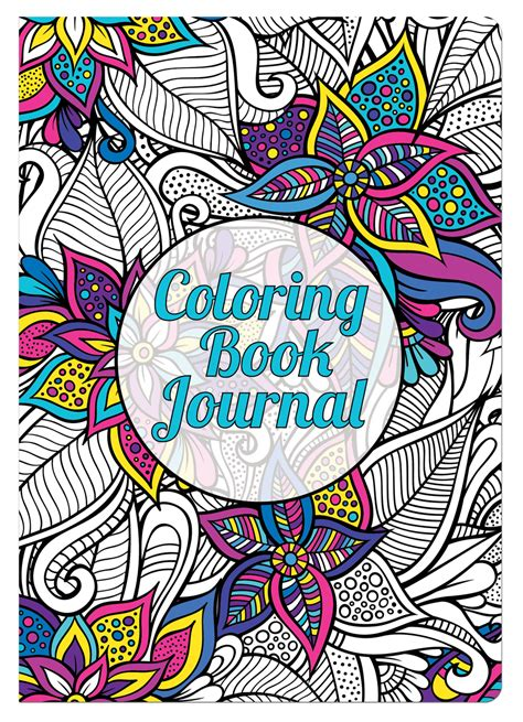 coloring book journal