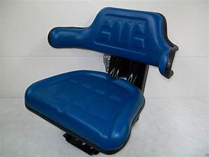Suspension Seat Ford Tractor Blue 2000  2600  2610  3000