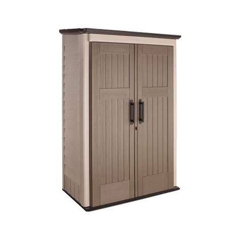 Rubbermaid Cupboard by Rubbermaid Large Vertical 52 Cu Ft Outdoor Storage