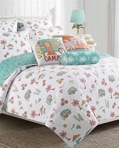 Beach Camper Luxury Quilt-Bedding-Coastal-Shops & Trends