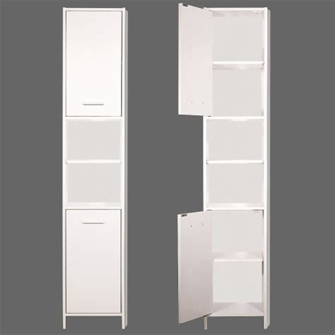 Large Bathroom Cupboard by Bathroom Cabinet Cupboard White Large Storage Shelf