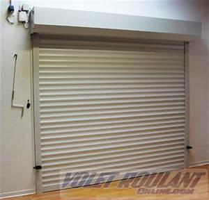 Porte de garage sur mesure sectionnelle ou enroulable a for Porte de garage enroulable avec porte pvc interieur
