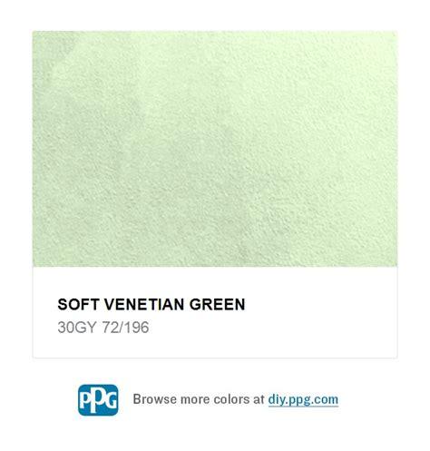 soft venetian green