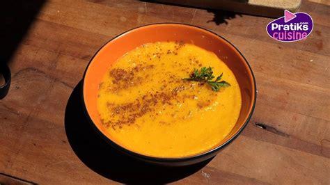 comment cuisiner des carottes cuisine minceur comment cuisiner un velouté de fânes de