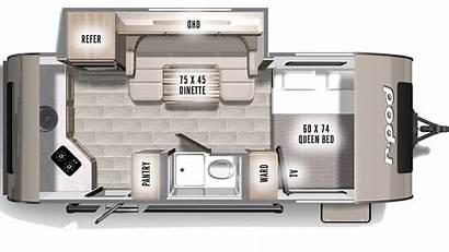 Pod 179 Floor 2021 Plan Trailer Travel