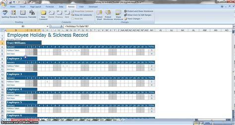 leave tracker excel template  samplebusinessresume