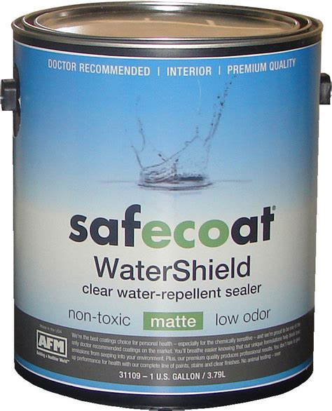 AFM SafeCoat, WaterShield   Non Toxic Water Sealer for