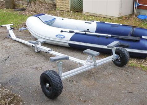 Zodiac Boat Options by Castlecraft Trailex Universal Launching Dolly For